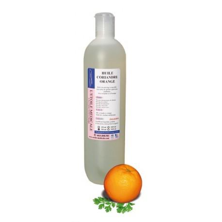 Huile parfumée Coriandre & Orange
