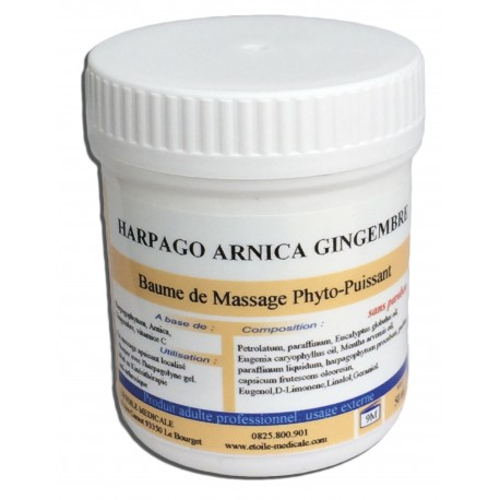 BAUME HARPAGO ARNICA GINGEMBRE 50ML