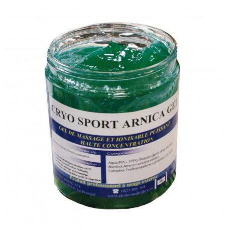 Gel cryo-sport à l'arnica : pot de 250 ml