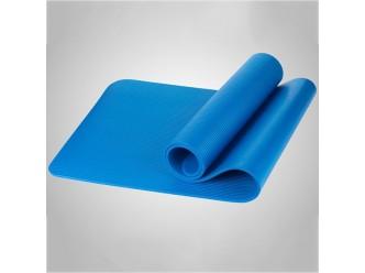 Tapis yoga épaisseur 10 mm-bleu
