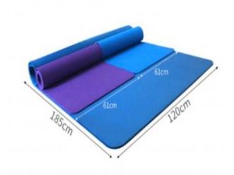 Tapis de Yoga 185x120 CM, épaisseur 15 mm