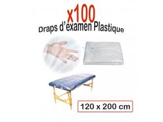 Drap Examen Plastique (120 x 200 cm)